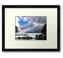 surrealism views Framed Print