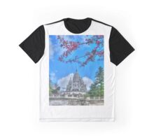 Sacre Couer framed by nature Graphic T-Shirt