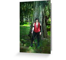 MORRIGAN COSPLAY / DRAGON AGE ORIGINS 02 Greeting Card