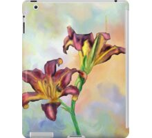 Water colour lily iPad Case/Skin