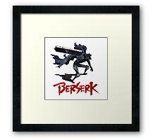 Berserk - Guts Framed Print