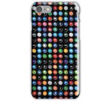 Social Media Maniac iPhone Case/Skin