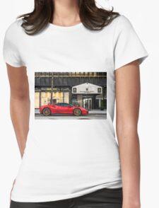 Ferrari 488 GTB Womens Fitted T-Shirt