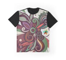 Floral curves II Graphic T-Shirt