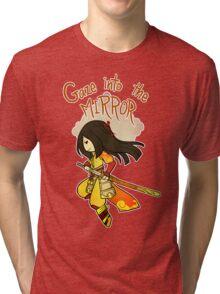 Smite - Gaze into the Mirror (Chibi) Tri-blend T-Shirt