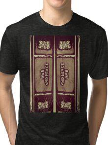 """War and Peace"" (C) Tri-blend T-Shirt"