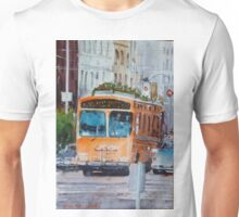 San Francisco Culture Bus Unisex T-Shirt