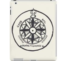 Moral compass iPad Case/Skin