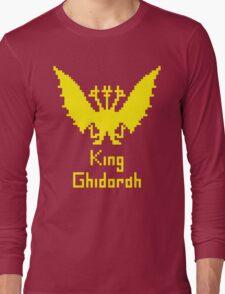 King Ghidorah Pixel Long Sleeve T-Shirt