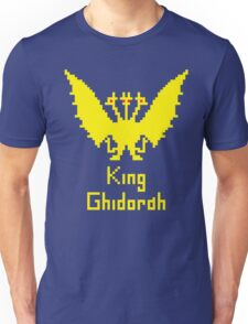 King Ghidorah Pixel Unisex T-Shirt
