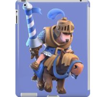Blue Prince in Charge Clash Royale Game iPad Case/Skin