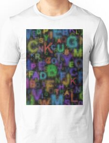 Alphabet colours Unisex T-Shirt