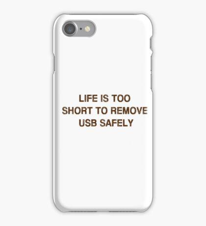 Pc Funny USB iPhone Case/Skin