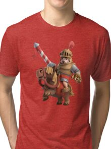 Red Prince Mad Clash Royale Game Tri-blend T-Shirt