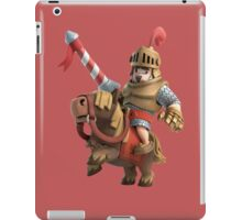 Red Prince Mad Clash Royale Game iPad Case/Skin