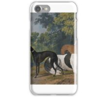 Sawrey Gilpin  TWO GREYHOUNDS AND A MASTIF BELONGING TO THE DUKE OF HAMILTON iPhone Case/Skin