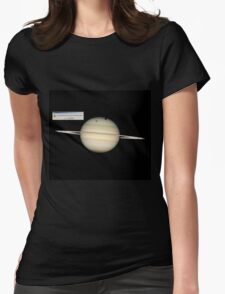 Error: God Not Found - Saturn Womens Fitted T-Shirt