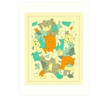 INNER-FORMATIONS (4) Art Print