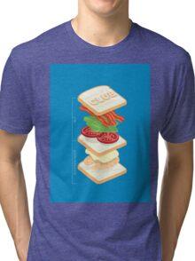 Anatomy of a Club Sandwich Tri-blend T-Shirt