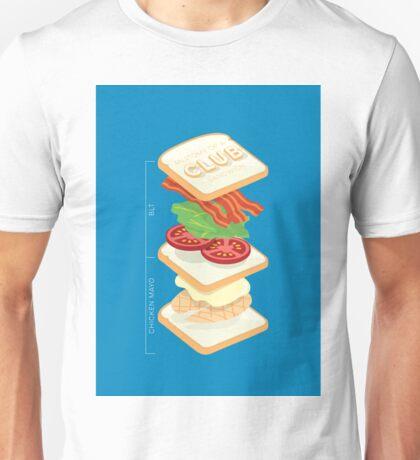Anatomy of a Club Sandwich Unisex T-Shirt