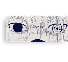 Kakashi's eyes Canvas Print