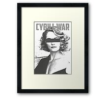 Cybill War Framed Print
