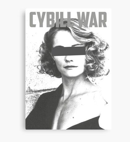 Cybill War Canvas Print