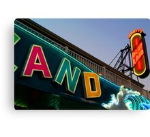 Marty's Playland Canvas Print