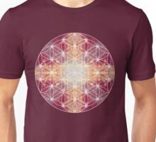 flower of life magenta Unisex T-Shirt