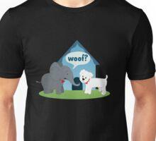 Puppy-Sized Elephant Unisex T-Shirt