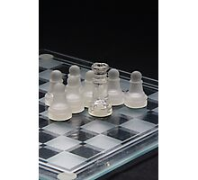 Chess Surrounded 2 Photographic Print