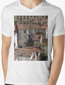 Tiles and Windows, Lucca  Mens V-Neck T-Shirt
