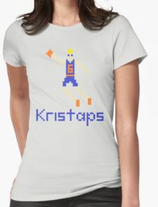 Kristaps Pixel Womens Fitted T-Shirt