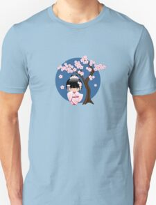 Japanese Bride Kokeshi Doll Unisex T-Shirt