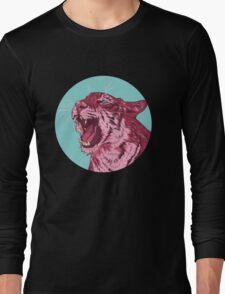 Magenta tiger Long Sleeve T-Shirt