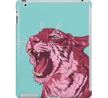 Magenta tiger iPad Case/Skin
