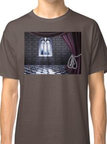 Room with Gothic Window Classic T-Shirt