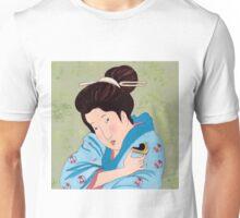 Mrs Hokusai Tries An Australian Delicacy Unisex T-Shirt