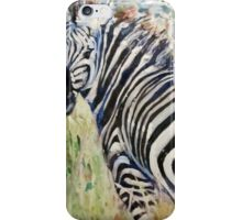 zebra iPhone Case/Skin