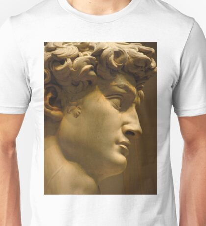 Michelangelo Study; The Face Unisex T-Shirt