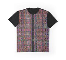 Abstract glowing neon lines pattern Graphic T-Shirt