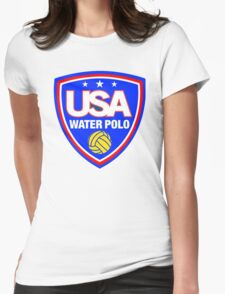 Team USA Water Polo Womens Fitted T-Shirt