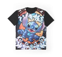 Funny Stitch Smile Graphic T-Shirt