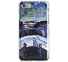 Starry night - Edvard Munch iPhone Case/Skin