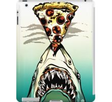 Pizza Shark Jaws Parody iPad Case/Skin
