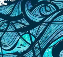 Upon The Sea Sticker