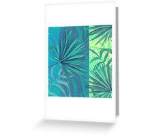 soft tropic  Greeting Card