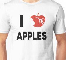 I love apples Unisex T-Shirt