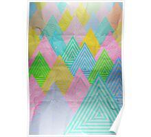 Acid Mountains Poster