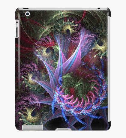 Purple pink fractal dream swirl iPad Case/Skin